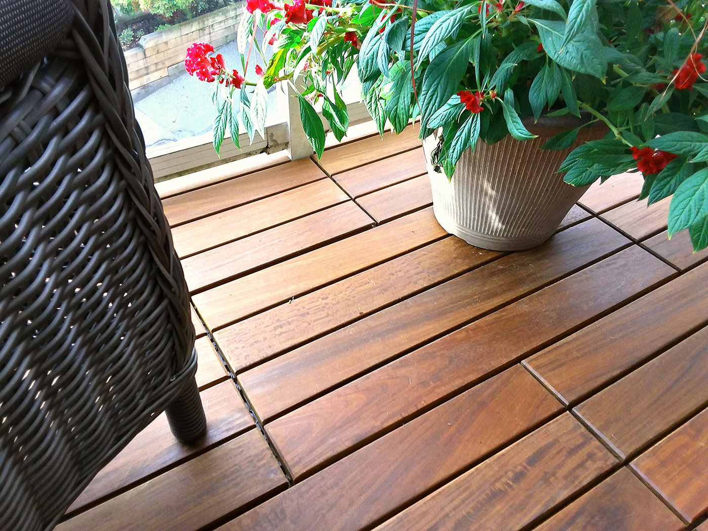 Exotic Hardwood Deck Tiles Balcony Tiles Vancouver