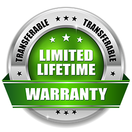 LIMITED LIFETIME TRANSFERABLE WARRANTY